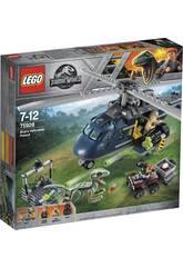 imagen Lego Jurassic World Persecución en Helicóptero 75928