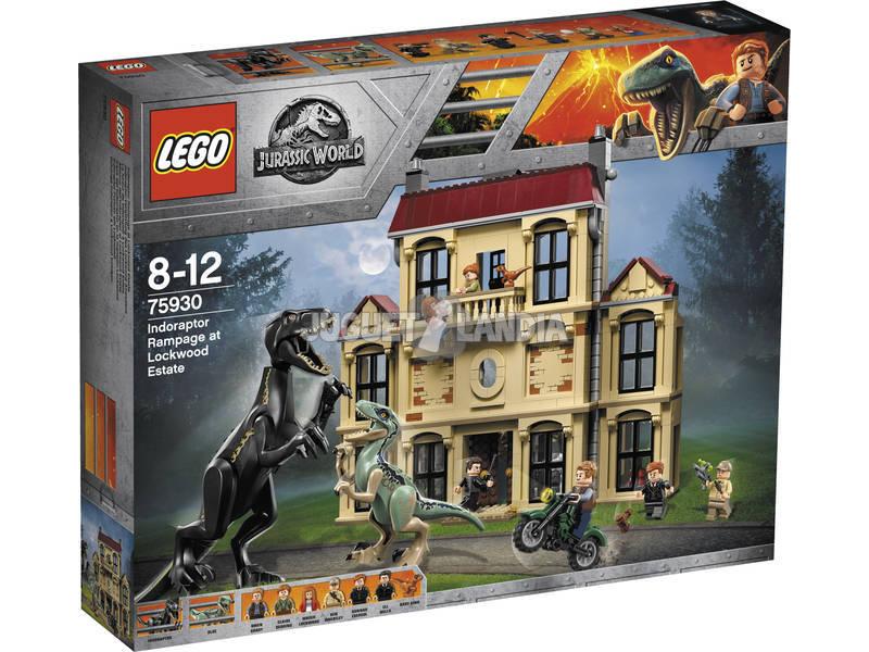 Lego Jurassic World Caos do Indoraptor 75930