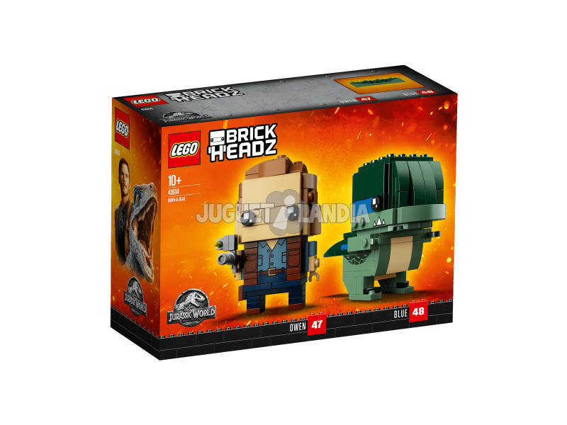 Lego Jurassic World Owen et Blue 41614