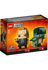 imagen Lego Jurassic World Owen et Blue 41614