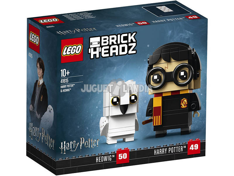 Lego Brickheadz Harry Potter y Hedwig 41615