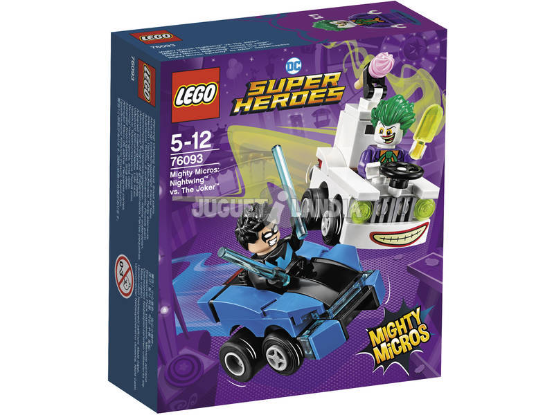 Lego Super Heróis Mighty Micros Nightwing vs. The Joker 76093