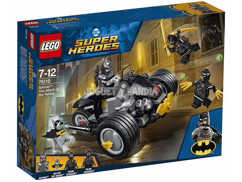 Lego Súper Héroes Batman the Attack of the Talons 76110