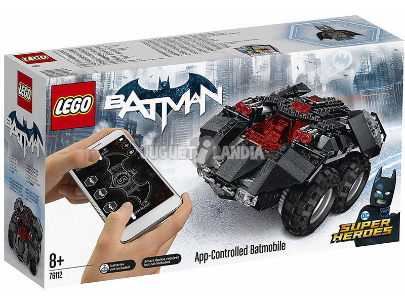 Lego super heroes Batmóvil controlado por app 76112