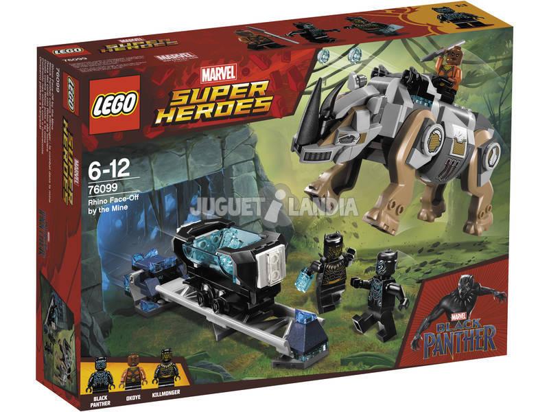 Lego Super Heroes Resa dei Conti con Rhino alla miniera 76099
