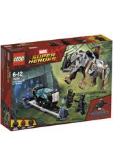 imagen Lego Super Héroes Duelo Contra Rhino Junto a la Mina 76099