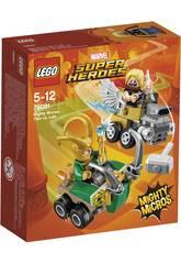 Lego Super Héroes Mighty Micros Thor VS. Loki 76091