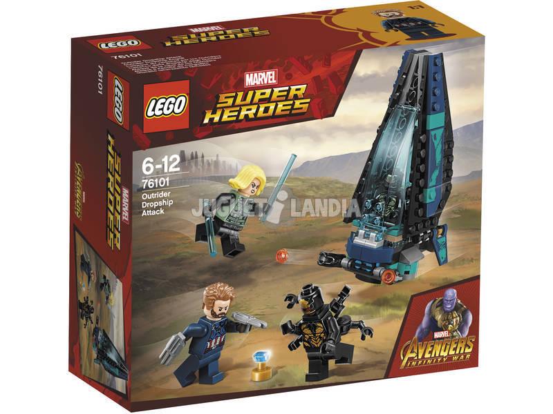 Lego Super Heróis Ataque da Nave dos Outriders 76101