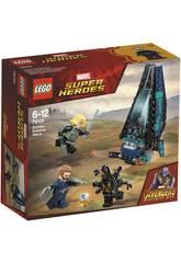 Lego Super Héroes Ataque de la Nave de los Outriders 76101