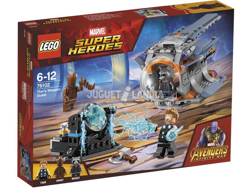 Lego Super Héroes Aventura Tras el Arma de Thor 76102