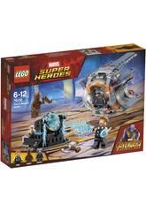 imagen Lego Super Héroes Aventura Tras el Arma de Thor 76102