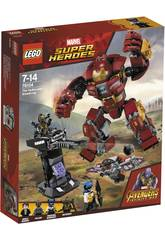 imagen Lego Super Héroes Incursion Demoledora del Hulkbuster Smash-Up 76104