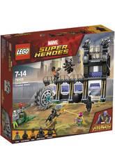 Lego Super Héroes Ataque de la Desgranadora de Corvus Glaive 76103