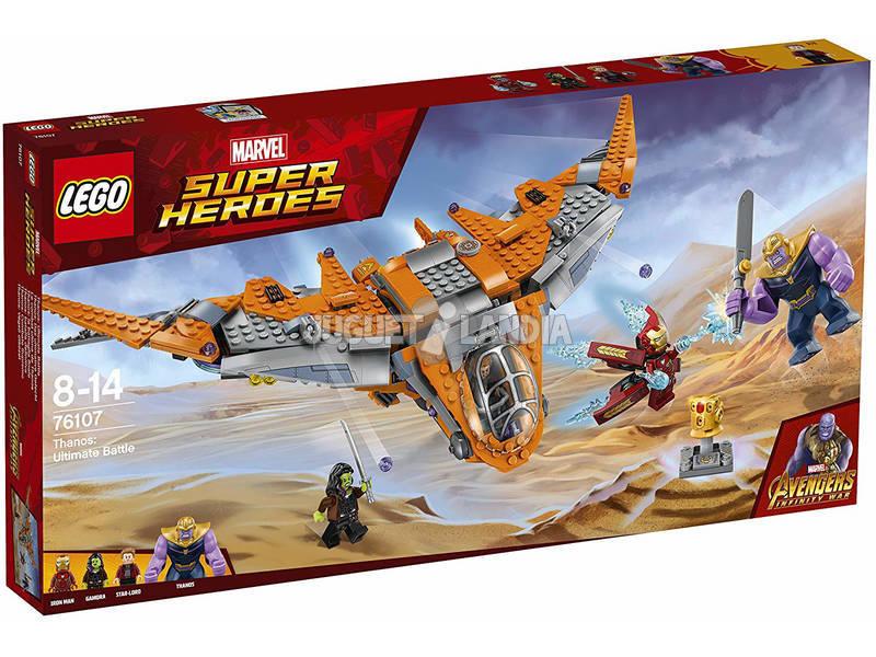 Lego Super Heróis Thanos Batalha Definitiva 76107