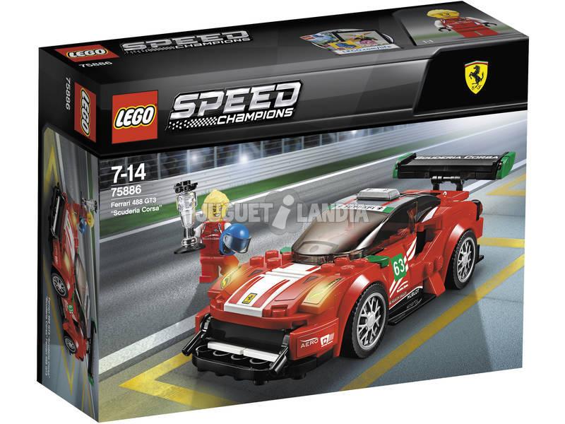 Lego Velocidade Campeões Ferrari 488 GT3 Scuderia Corsa 75886