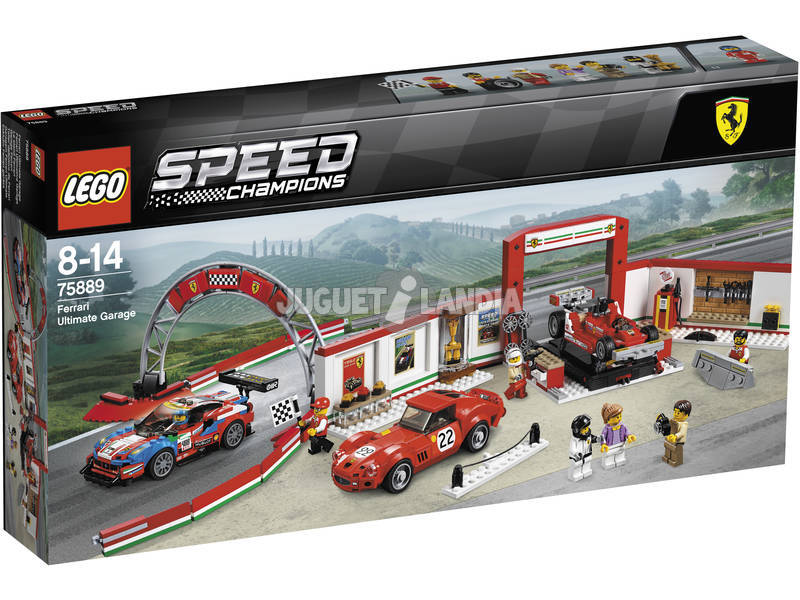 Lego Speed Champions Taller Definitivo de Ferrari 75889