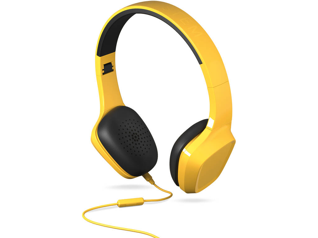 Auriculares 1 Mic Color Amarillo Energy Sistem 428397