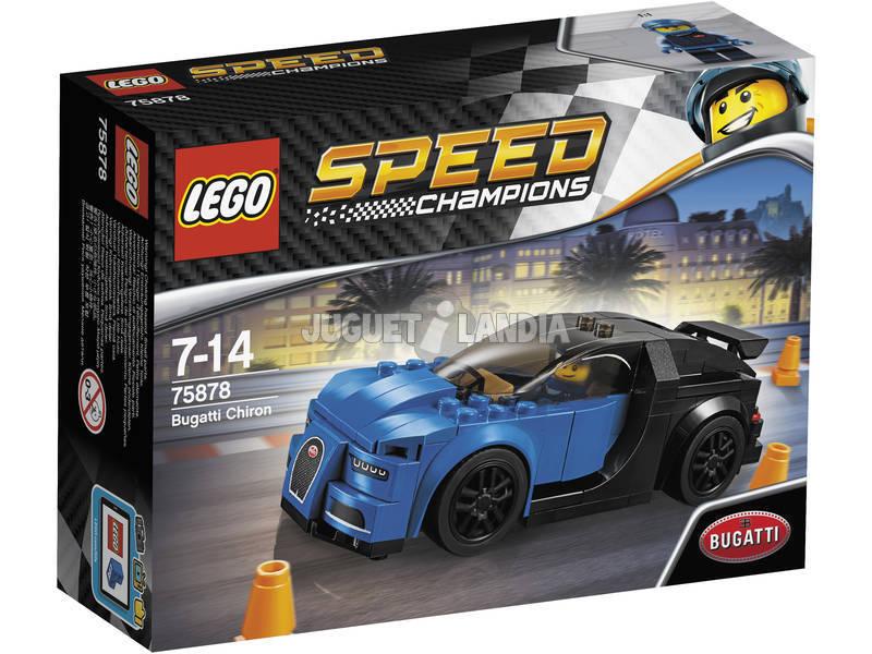 Campeões de velocidade de Lego Bugatti Chiron 75878