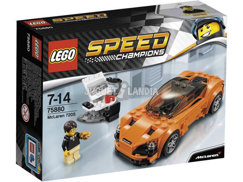 Lego Velocidade Campeões McLaren 720S 75880