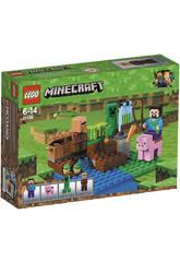 Lego Minecraft La Ferme des Pastèques 21138