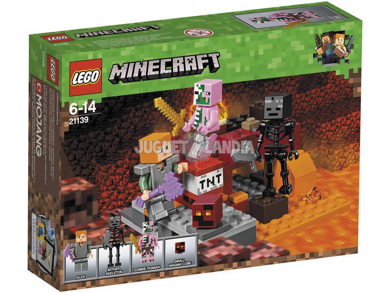 Lego Minecraft Combate no Inferno 21139