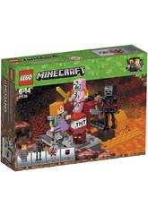 Lego Minecraft Le Combat de l'Enfer 21139
