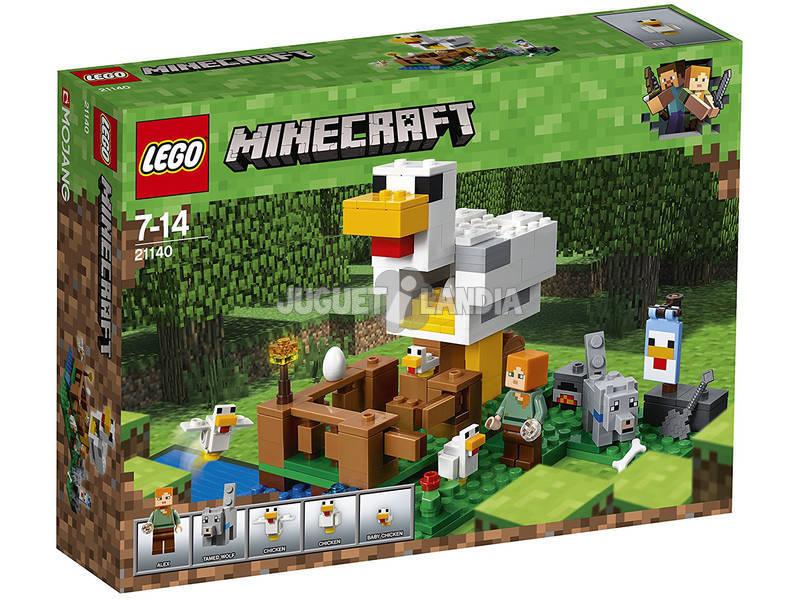 Lego Minecraft El Gallinero 21140