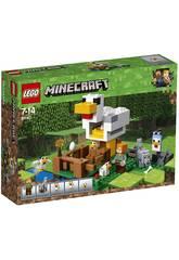 imagen Lego Minecraft El Gallinero 21140