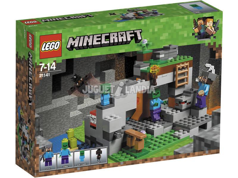 Lego Minecraft La Cueva de los Zombis 21141