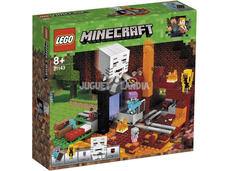 Lego Minecraft El Portal al Infierno 21143