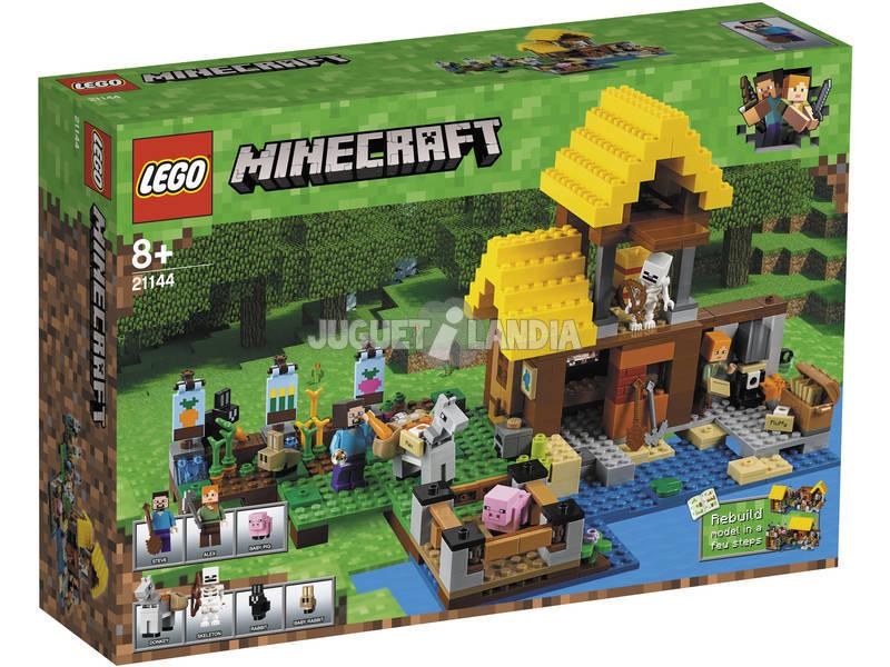 Lego Minecraft A cabana da fazenda 21144