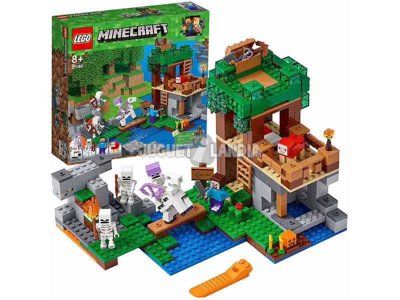 Lego Minecraft El Ataque de los Esqueletos 21146