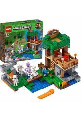 Lego Minecraft L'attaque des squelettes 21146