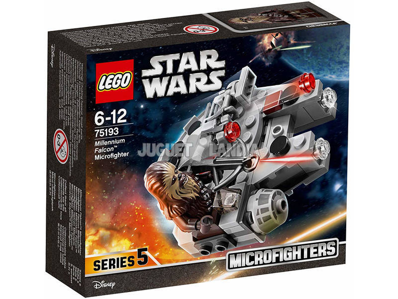 Lego Star Wars Microfighter Halcón Milenario 75193