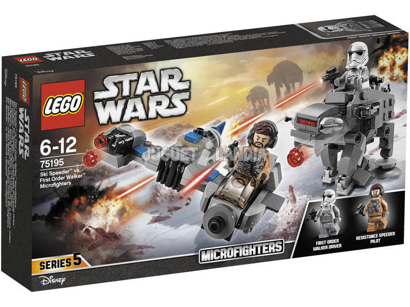 Lego Star Wars Microfighter Snow Speeder VS. Caminante Imperial 75195