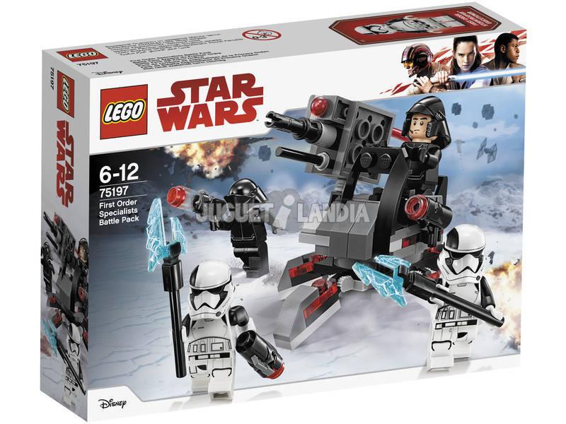 Lego Star Wars Pack de Combate de Especialistas de la Primera Orden 75197
