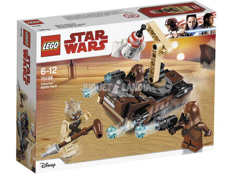 Lego Star Wars Pack de Combate de Tatooine 75198
