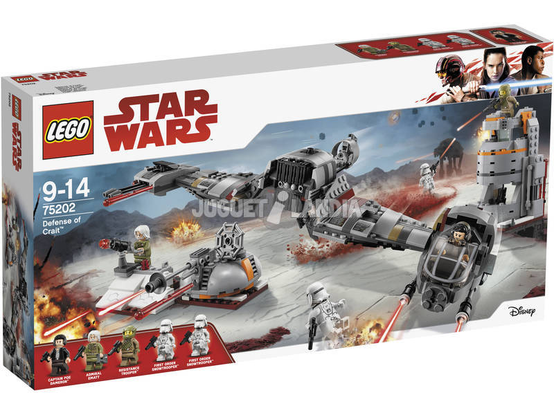 Lego Star Wars Difesa di Crait 75202