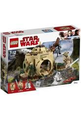 Lego Star Wars Cabaña de Yoda 75208