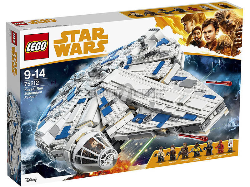 Lego Star Wars Millennium Falcon do Corredor de Kessel 75212