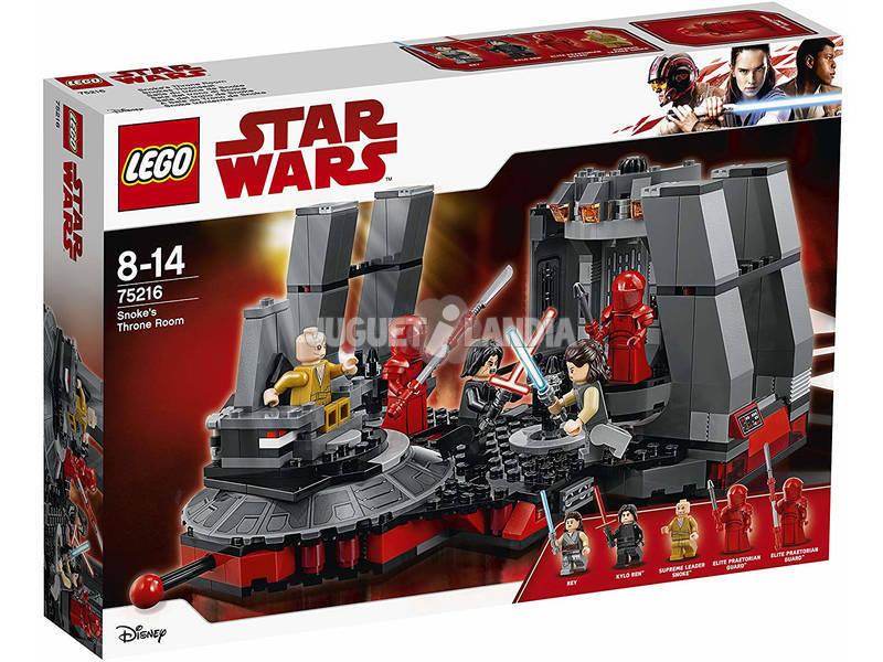 Lego Star Wars Sala del trono di Snoke 75216