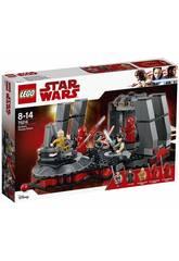 Lego Star Wars Sala del trono de Snoke 75216
