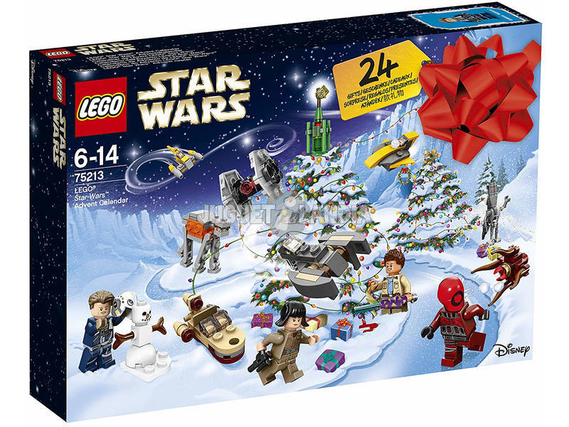 Lego Star Wars Calendario de Adviento 75213