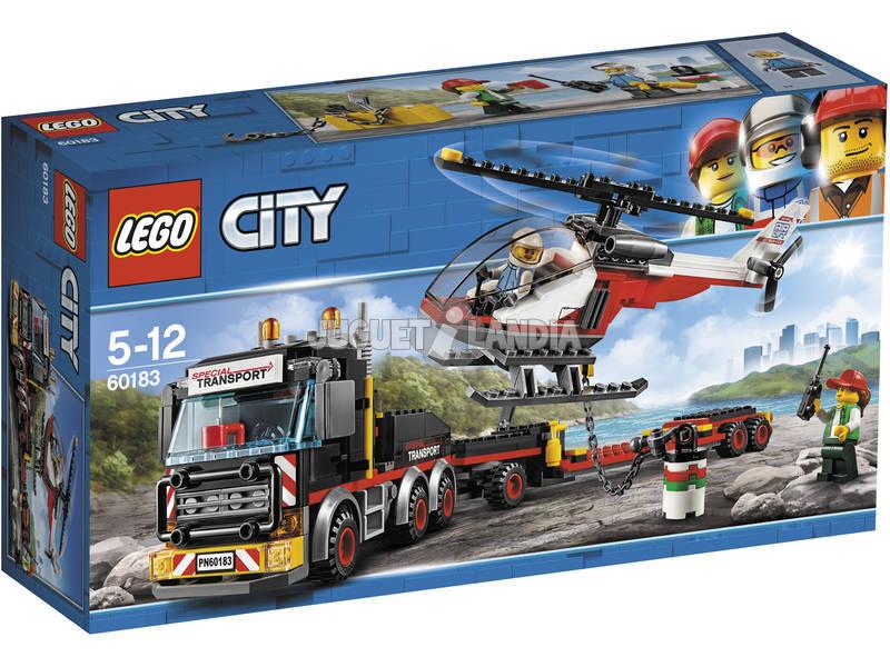 Lego City Trasportatore carichi pesanti 60183