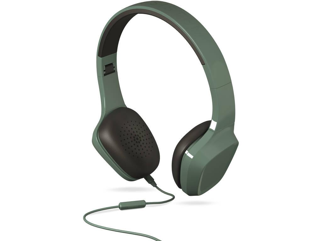 Auricolari Mic 1 Color Verde Energy Sistem 428380