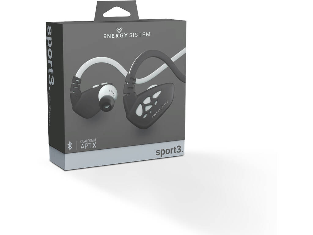 Auricolari Sport 3 Bluettoth Silver Energy Sistem 429271