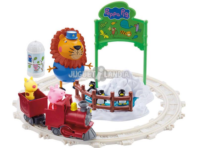 Playset Peppa No Zoo Bandai 6698