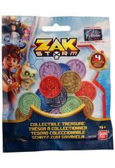 imagen Pack 4 Monedas Zak Storm Bandai 41500