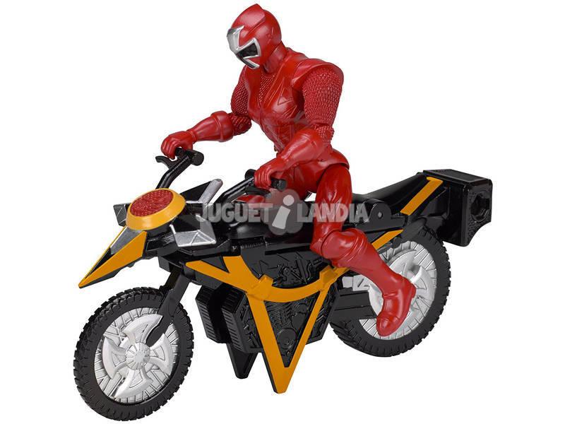 Moto Power Rangers Ninja Steel Bandai 43570