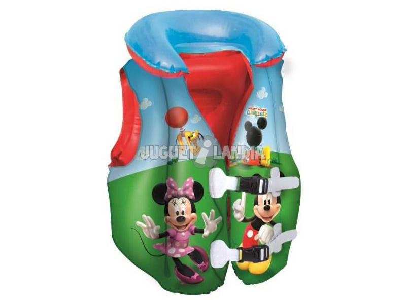 Gilet da nuoto galleggiante Mickey Mouse Clubhouse51x46 cm Bestway 91030